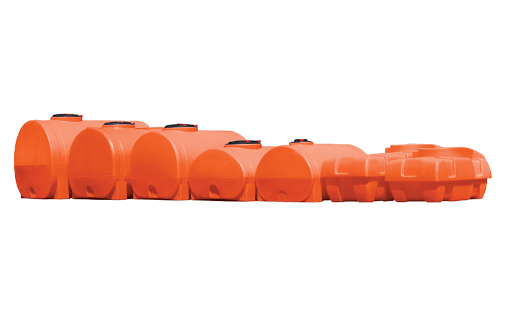 Agricultural water cartage tanks