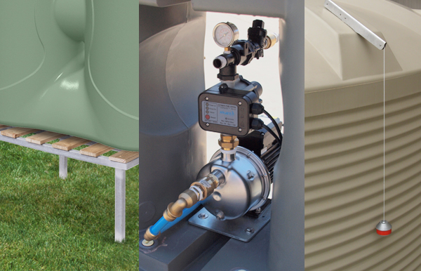 Pumps & Rainwater Tank Accessories