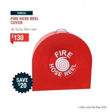 Fire Hose Reel Cover (Suits 36m Reel)
