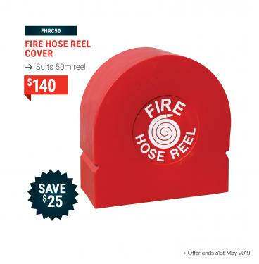 Fire Hose Reel Cover (Suits 50m Reel)