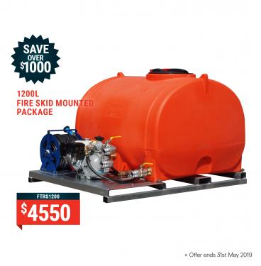 1200Ltr Skid Mounted Package